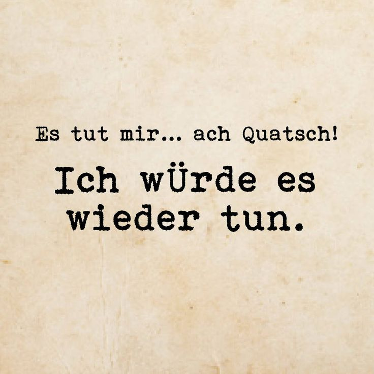 ach Quatsch