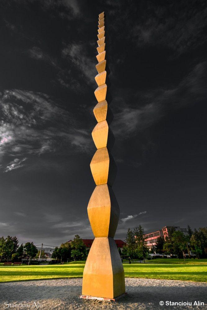 Coloana Infinitului at Targu Jiu by Stancioiu Alin