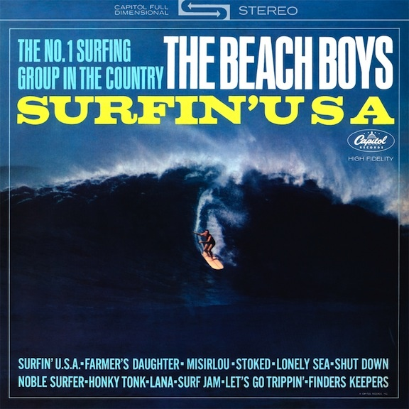 Surfin Usa  Capitol By The Beach Boys Their Second Lp Contains Shut Down See Https Www Youtube Com Watchvsnypbmppdconohtml