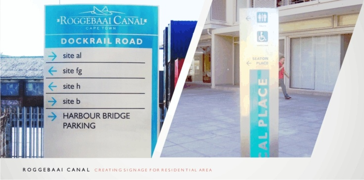 Residential Complex Signage