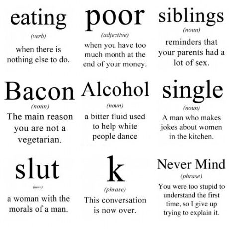 Basic word meanings