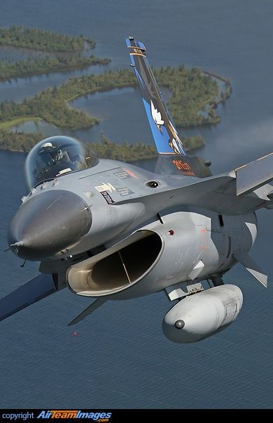 The F-16 Fighting Falcon is a compact, multi-role supersonic fighter aircraft