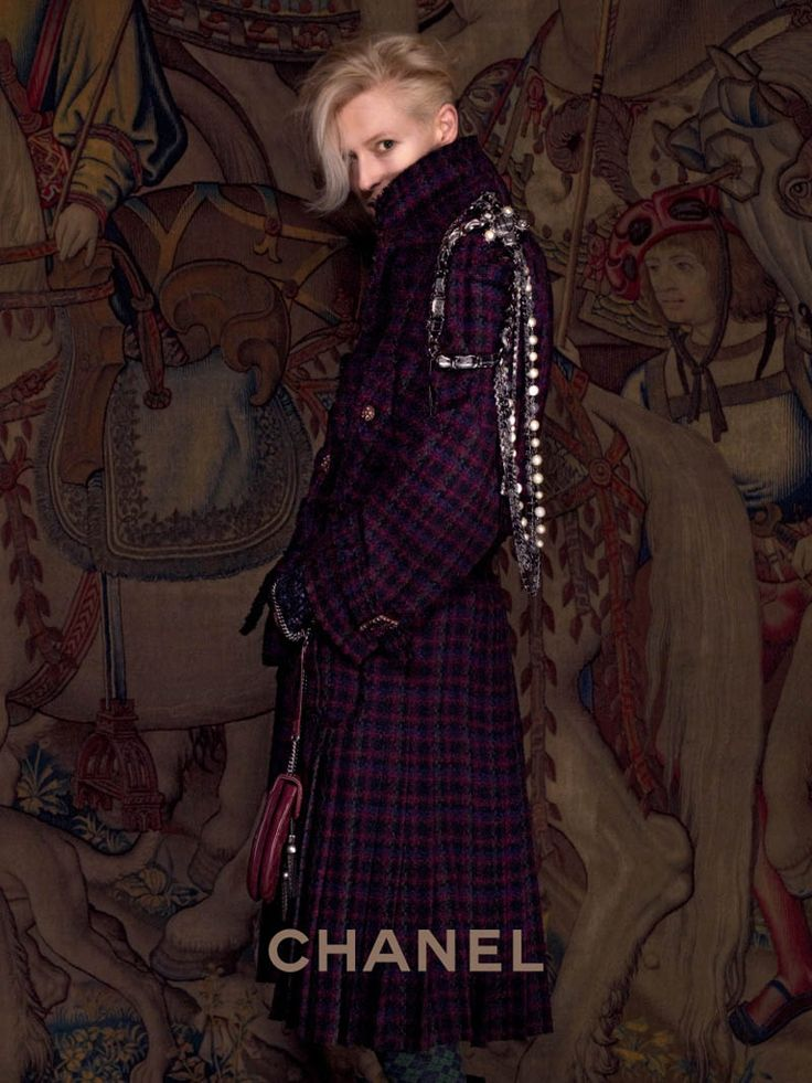 Tilda Swinton Embraces Scottish Heritage for Chanel Paris-Edimbourg Campaign by Karl Lagerfeld | Fashion Gone Rogue: The Latest in Editorials and Campaigns