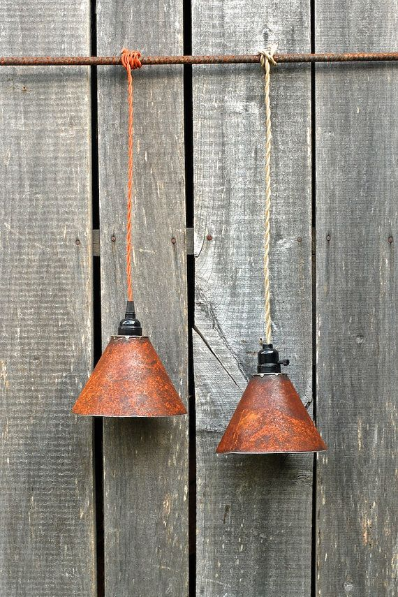 rustic pendant lighting kitchen. rustic corroded metal pendant lighting design ideas by dropmetal of inspirations kitchen light fixtures o