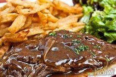 Receita de Bife com molho madeira em Carnes, veja essa e outras receitas aqui!
