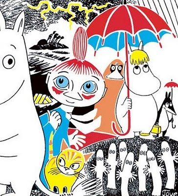 Moomin and his friends by Tove Jansson
