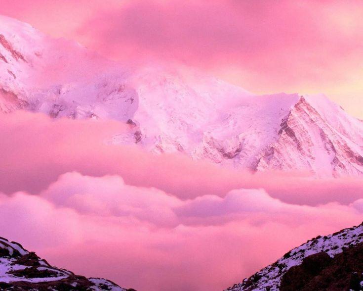 Розовый туман 1280x1024
