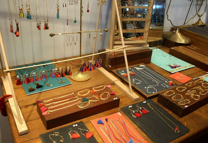 Cool jewellery boutique Monstro Diva near the Cours Julien, Marseille