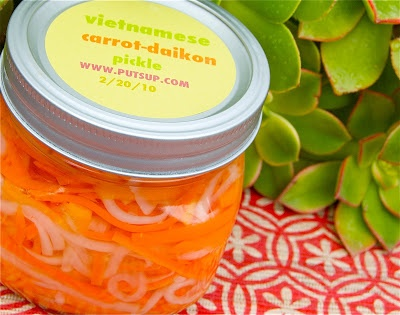 Vietnamese carrot and daikon pickle | Food | Pinterest