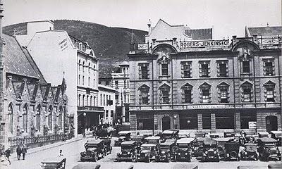 J.N.X. building, Greenmarket Square (Photograph circa 1924).