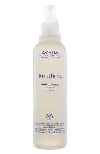 Aveda Brilliant Damage Control - The foundation for any hair style, use this spray as a pre-styling tool to protect your hair from the hazards of combing, heat styling, and sun damage.