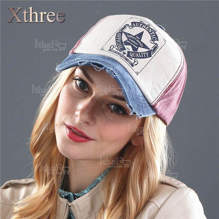 XTHREE Marka Unisex Yüksek Kaliteli Beyzbol Şapka Modelleri- IGD080608748