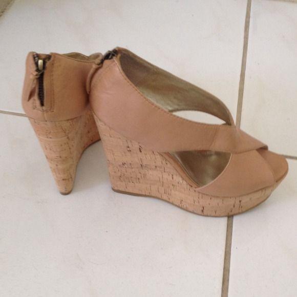 Pelle ModaBeige Wedge Heel Pelle Moda Beige Wedge 5 inch heel, soft leather, comfortable heel , beautiful shoe. (New) No Trades No PayPal Pelle Moda Shoes Wedges