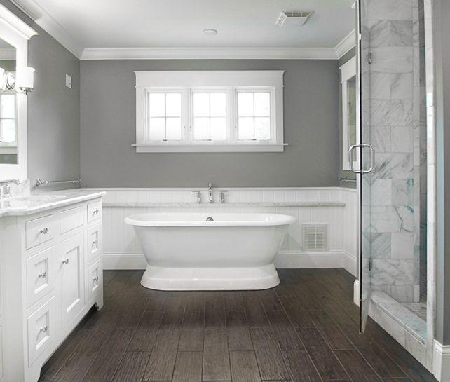 25 best Powder room paint ideas images on Pinterest Bathroom - traditional bathroom ideas