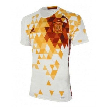 Maillot Espagne Euro 2016 Extérieur