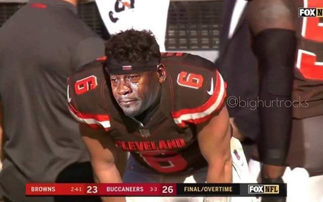 Baker Mayfield Was So Close Cryingjordanface Cryingjordan Baker Mayfield Jordan Meme Jordans