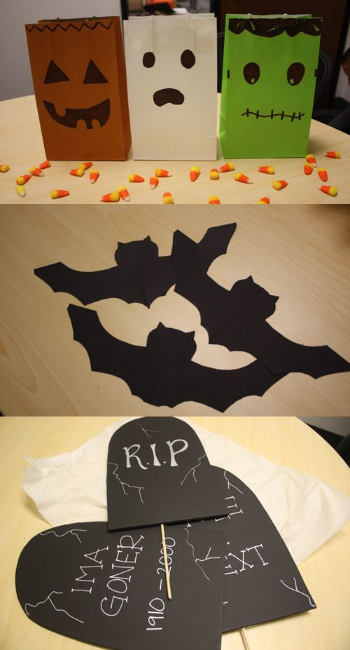 62 best HaLlOwEeN BiTs  BoBs images on Pinterest Holidays - cute halloween diy decorations