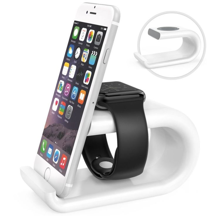 #Apple #Watch #Stand #Phone Stand #Acrylic #Charging #Station #Dock #Desk #Cradle Holder