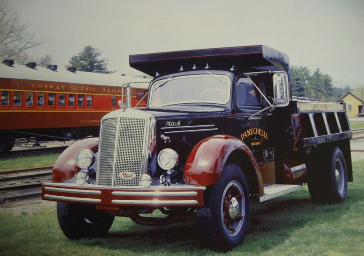 mack trucks | 1949 Mack 75 Dump Truck