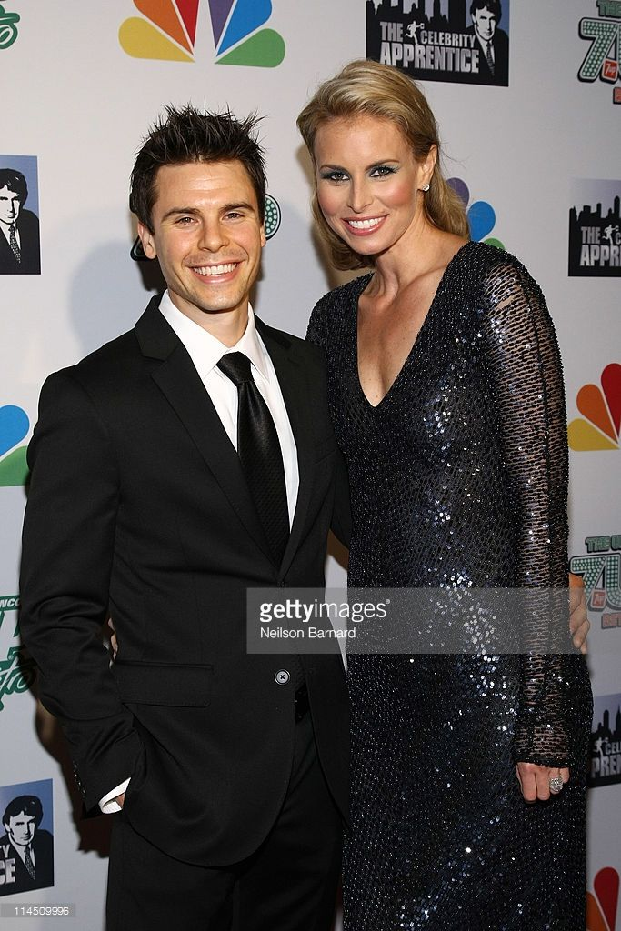 Model Niki Taylor (R) and NASCAR driver Burney Lamar attend 'The Celebrity Apprentice' Season 4 Finale at Trump SoHo on May 22, 2011 in New York City.