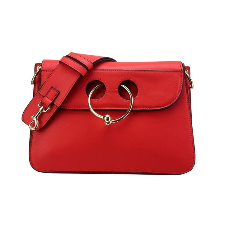 67.98$  Buy now - http://ali27g.shopchina.info/go.php?t=32795242137 - P202 European and American fashion cow nose ring bag leather Shoulder Bag oblique Crossbody Bag leather handbags  #aliexpresschina