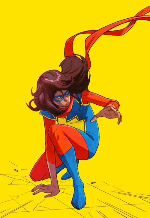 Kamala Khan in Ms Marvel #19