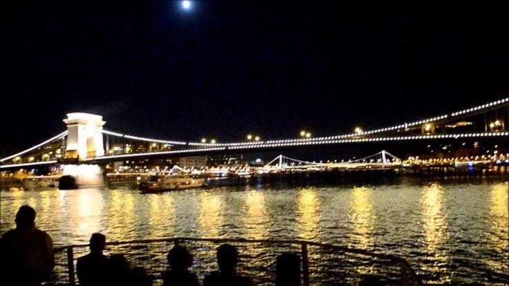 Budapest Danube cruise by night