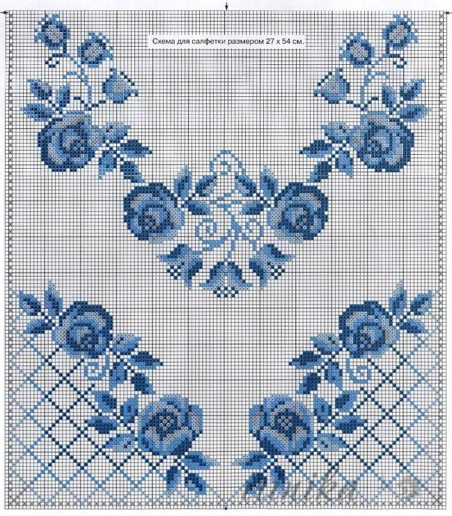 Gallery.ru / Фото #13 - цветы. схема на 1 лист - irinika