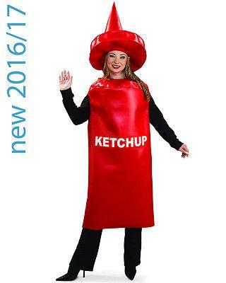 Ketchup Costume