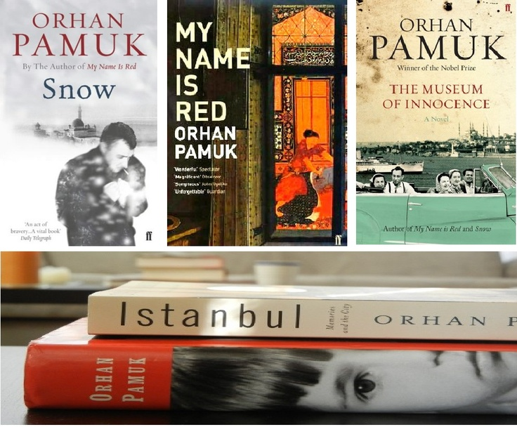 Orhan Pamuk - Istanbul - My Name is Red - The Museum of Innocence - Snow