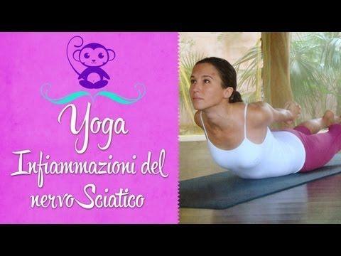 ▶ Yoga per l'infiammazione del nervo sciatico - YouTube