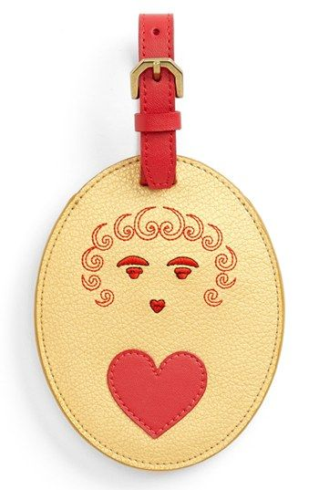 Jonathan Adler Cute Luggage Tag http://rstyle.me/n/dvpzbr9te