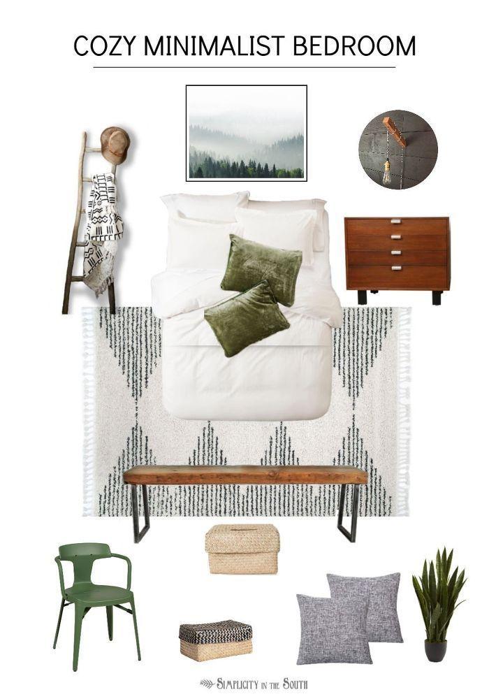 How To Design A Guest Bedroom Makeover Mood Board Guest Bedroom