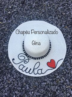3e68a32de5904 Chapéu Personalizado  Paula