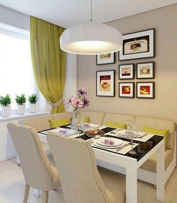 столовые с диваном дизайн фото гостю