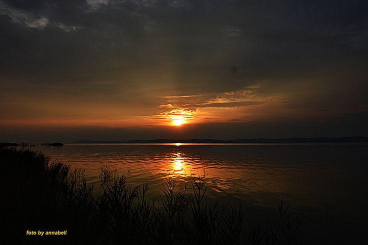 Balatonszárszói naplemente