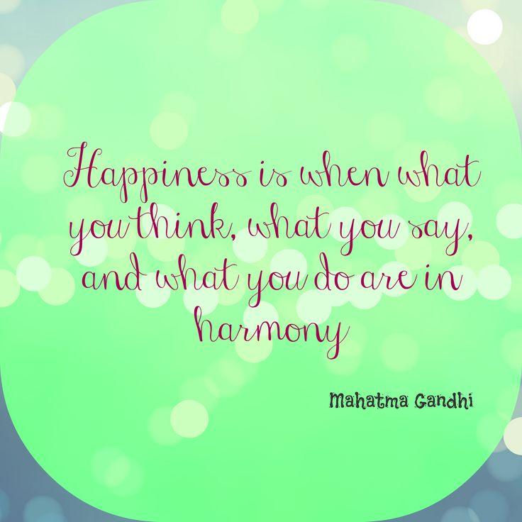 Armonía y felicidad!