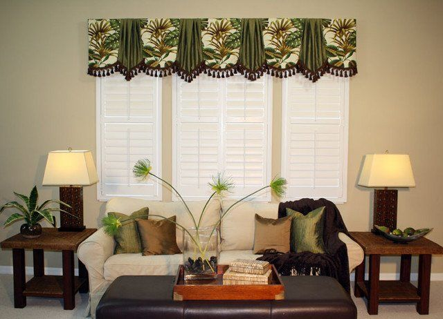 Traditional Marburn Curtain Valances