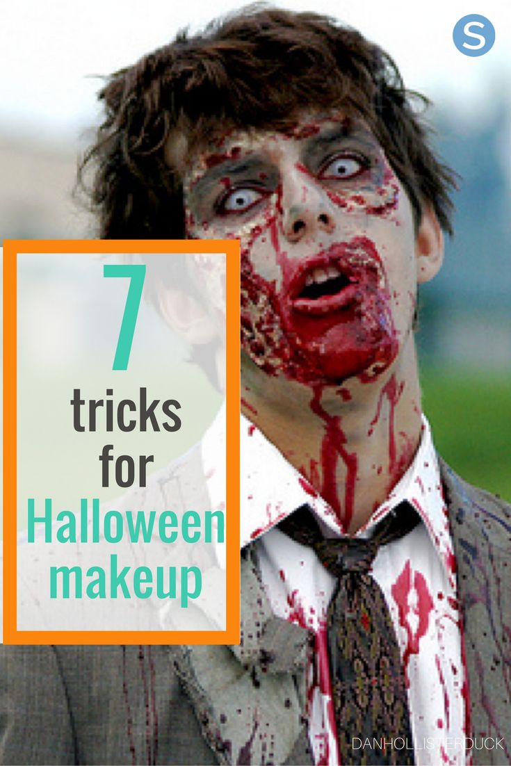Want some tips on how to do zombie makeup or create scars for your Halloween costume? Check out these awesome Halloween make-up tricks: http://simplemost.com/how-to-do-zombie-make-up-plus-6-other-halloween-makeup-hacks-using-stuff-already-in-your-pantry?utm_campaign=social-account&utm_source=pinterest&utm_medium=organic&utm_content=pin-description