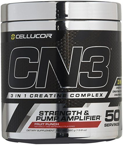 CN3 is a pre-workout supplement that features Creatine Nitrate-a super compound formed when Cretine is bonded with Nitrate. Creatine Nitrate produces two desirable effects on performance: Creatine for strength and Nitrate for pumps. Previously, you would have to stack the Nitric Oxide... more details at http://supplements.occupationalhealthandsafetyprofessionals.com/supplements-2/amino-acid/carnitine/product-review-for-cellucor-cn3-creatine-nitrate-strength-and-pump-amplifier