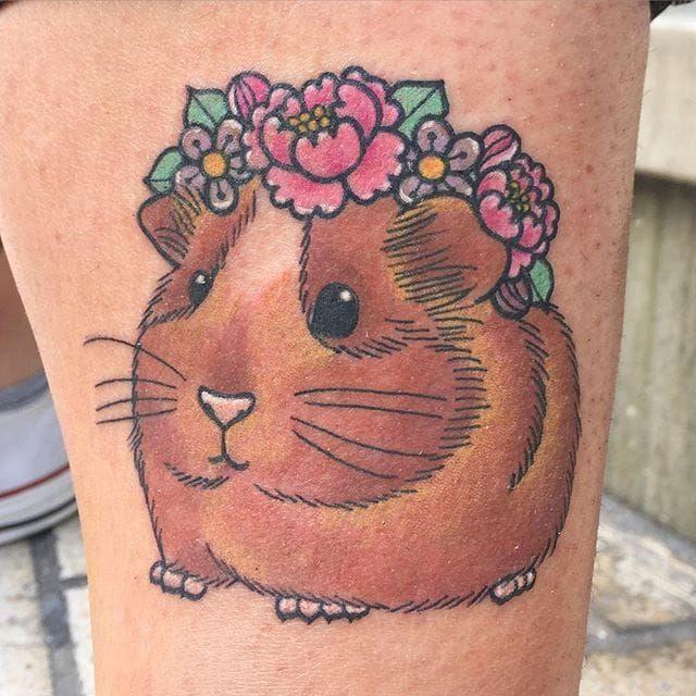 9 Gorgeous Guinea Pig Tattoos