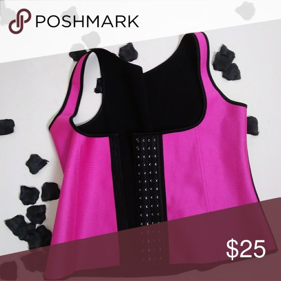 Pink Waist Trainer Vest 5X Pink Waist Trainer Vest 5X with Multiple Lines of Hooks for Size Adjustment. Never Worn Intimates & Sleepwear Shapewear