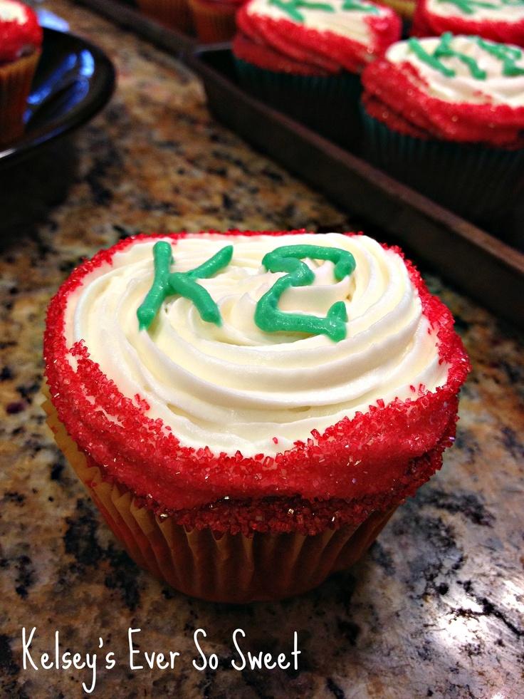 Kappa Sigma Red Velvet Cupcakes!
