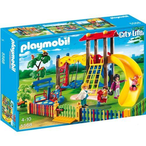 Square pour enfants avec jeux - Playmobil City Life - 5568