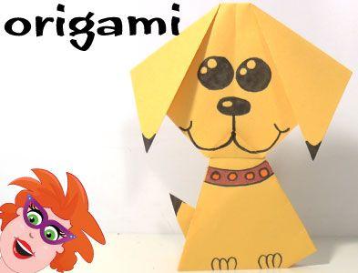 Ik laat je in het filmpje zien hoe je een origami hondje kan vouwen van papier. Door het te tekenen maak je het nog veel leuker.