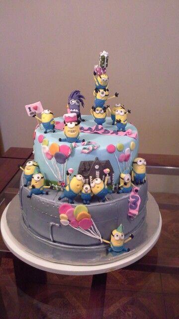 Minions cake mi version