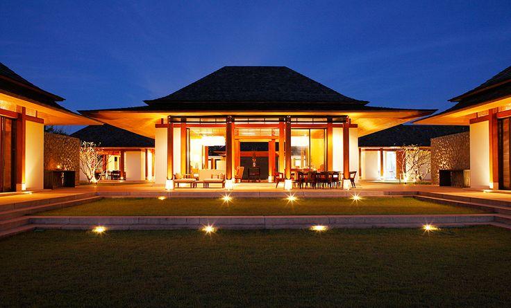 Villa Jenna at Natai   Phuket - Die Traumvilla am Abend