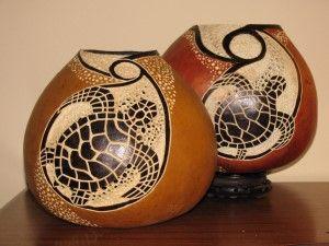 Dremel Gourd Patterns   spm6 ocean sun rising turtle reggie eakin southerngourds @ gmail com $ ...