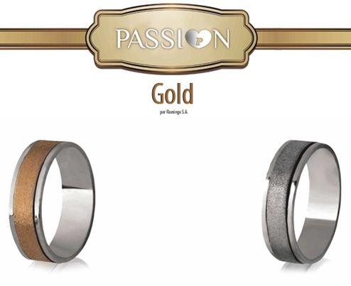 Alianças Passi♥n Gold