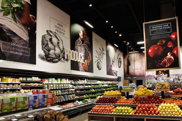 Michael Angelo's specialty food store by Watt International, Toronto   Canada groceries food